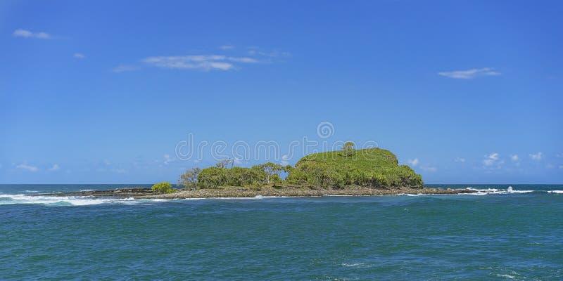 Побережье Квинсленд солнечности Mudjimba острова старухи стоковое изображение rf