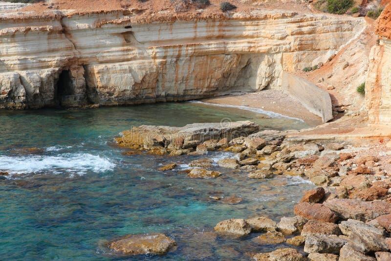 Побережье Кипра стоковые изображения