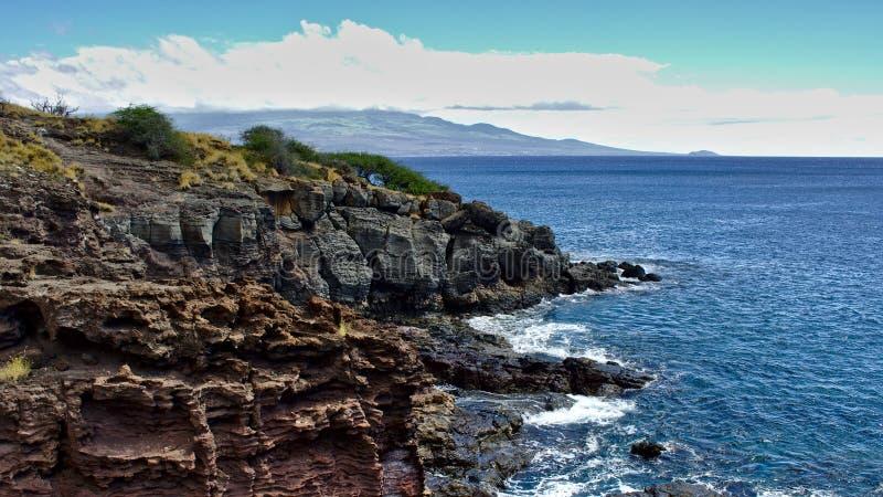 Побережье Мауи стоковая фотография rf