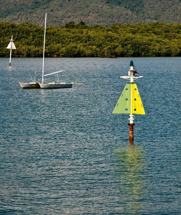 Побережье около Port Douglas, Австралии стоковая фотография rf
