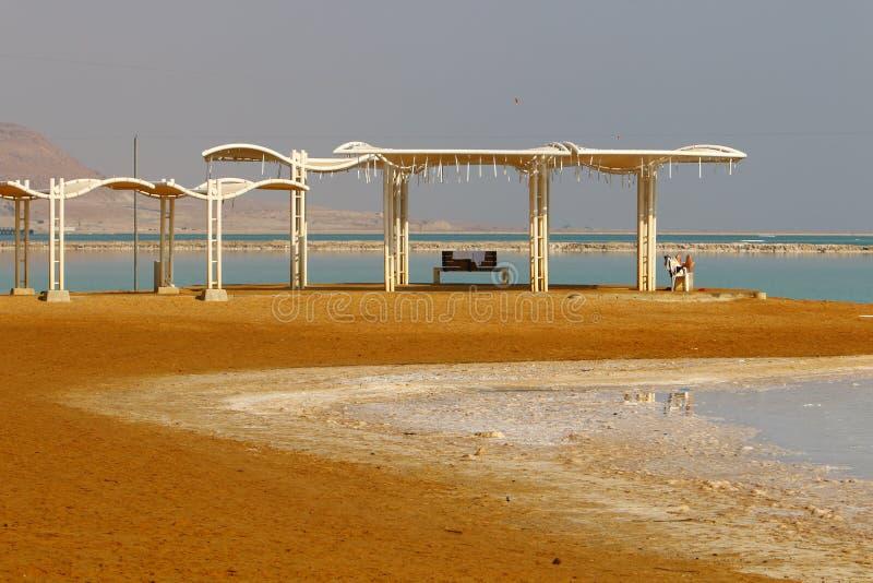 Побережье умерших, море Sodom стоковая фотография rf