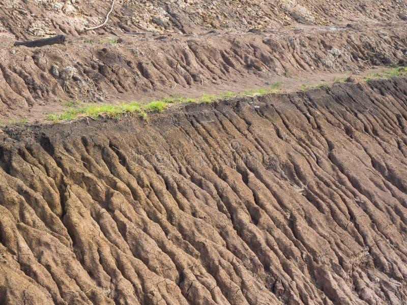 Побережье эрозии почвы предпосылки стоковые изображения