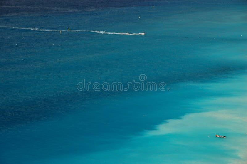Побережье Azur стоковое изображение