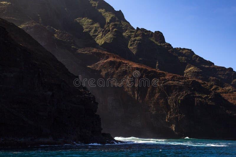 Побережье Na Pali стоковое изображение