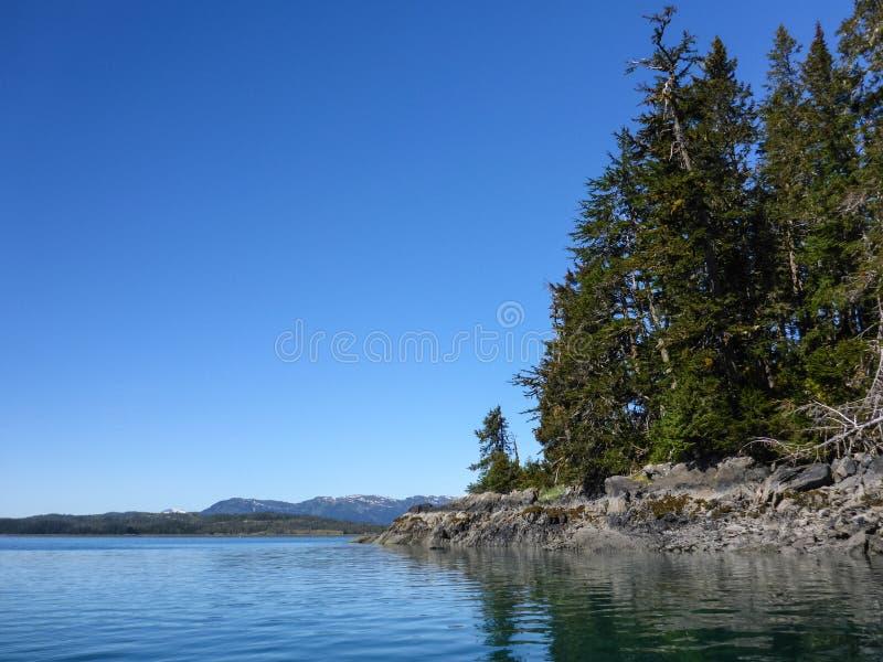 Побережье Prince William Sound стоковое фото