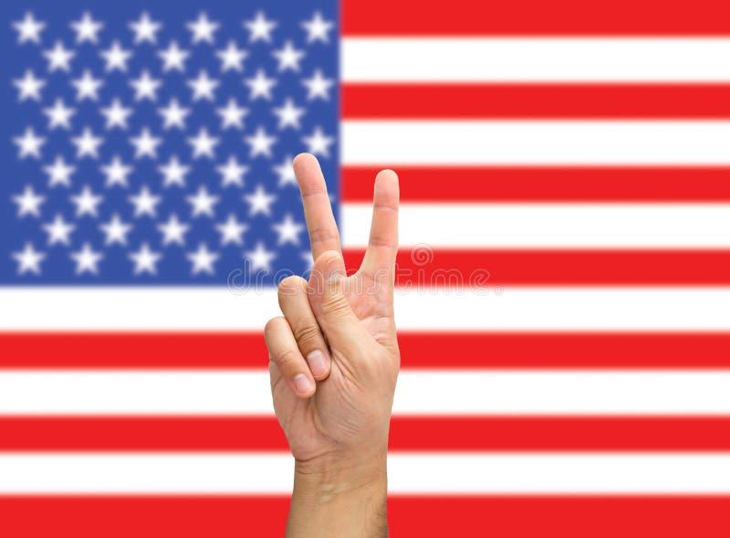 Победа в США стоковые фото