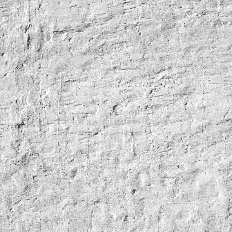 Побеленная предпосылка старой кирпичной стены неровная ухабистая грубая деревенская стоковое фото