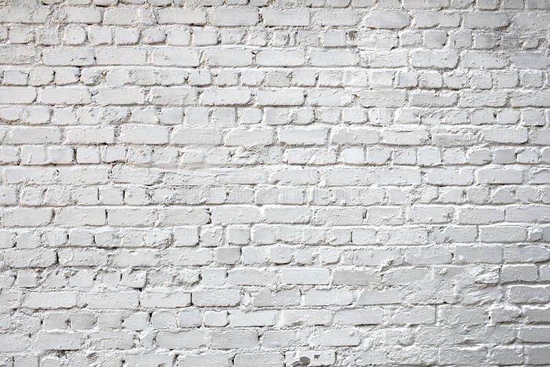 Побеленная стена города кирпича для предпосылки стоковое фото