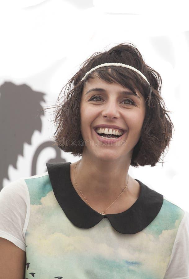 Победитель Jamala Евровидения (Украина) стоковое фото