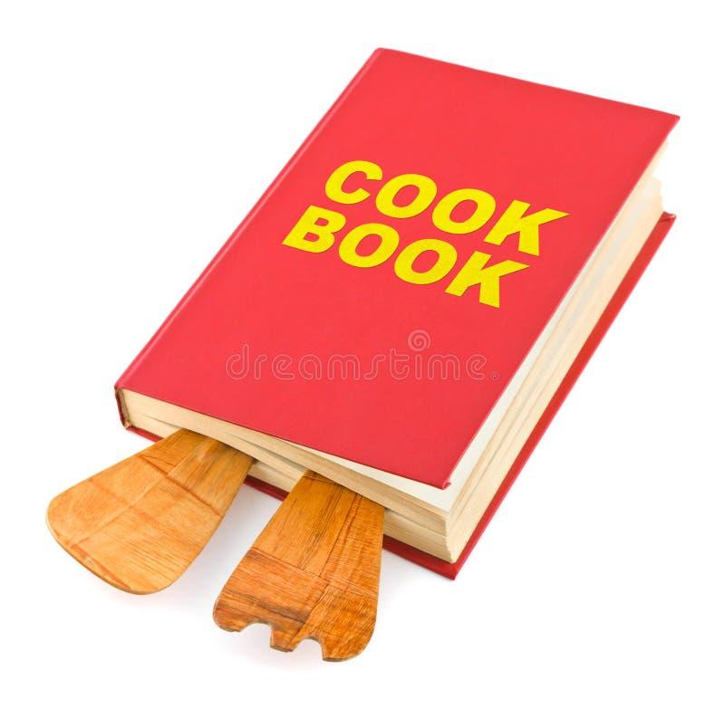 Поваренная книга и kitchenware стоковые фотографии rf