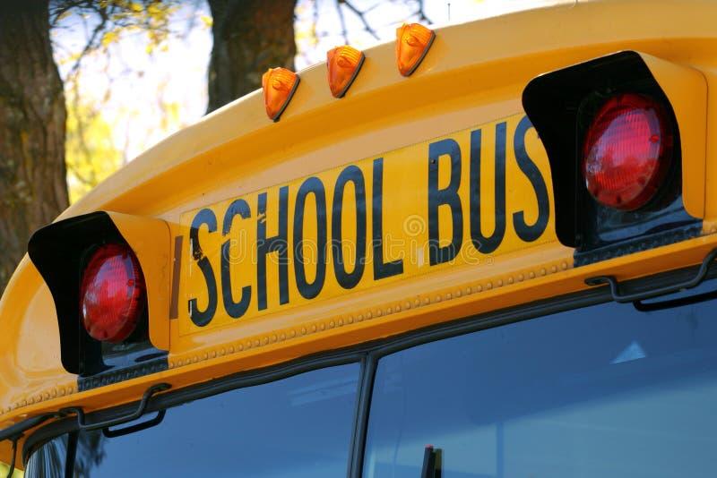 повезите школу на автобусе стоковые изображения