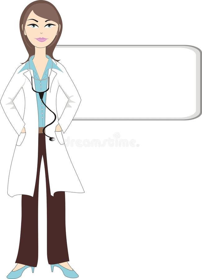 повелительница доктора бесплатная иллюстрация