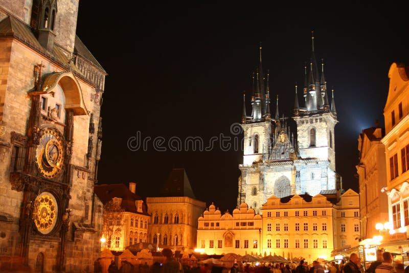 повелительница залы церков чехословакская старая наше tyn городка республики prague стоковое фото rf