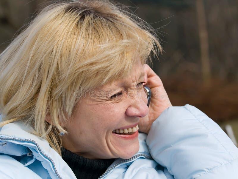 повелительница laughting стоковое изображение