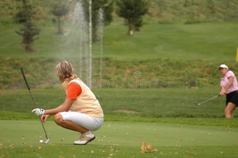 повелительницы гольфа стоковые изображения rf