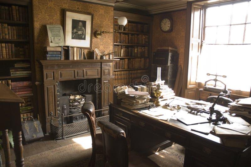 поверенные офиса викторианские стоковое изображение