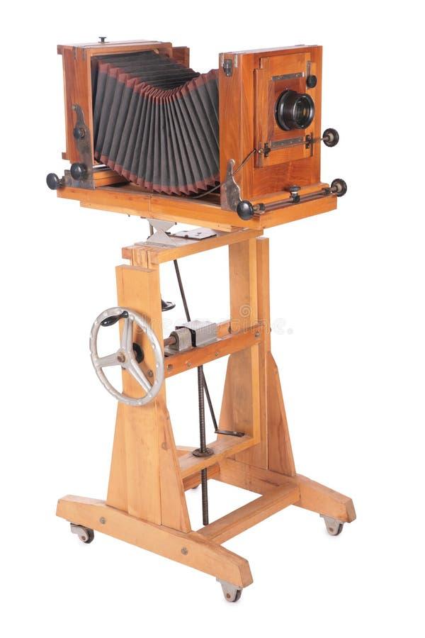 повернутое устарелое камеры наполовину стоковое изображение