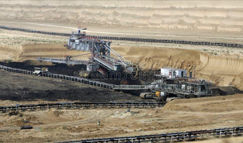Поверхностная угольная шахта стоковое фото rf