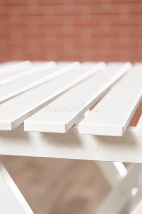Поверхность белой таблицы стоковое фото rf