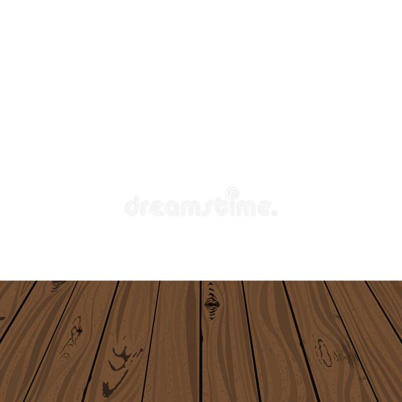 Поверхность древесины иллюстрация вектора