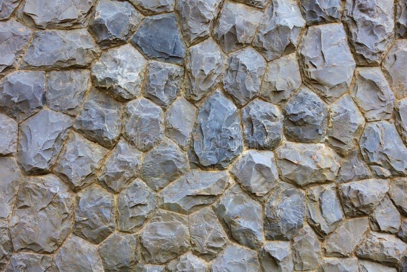 Поверхность каменной стены с текстурой предпосылки цемента стоковое изображение rf