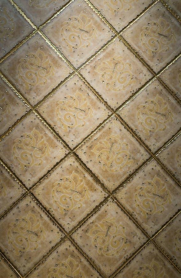 Поверхность керамической плитки стоковые изображения