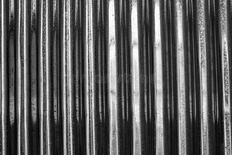 Поверхность крыши олова стоковые фото