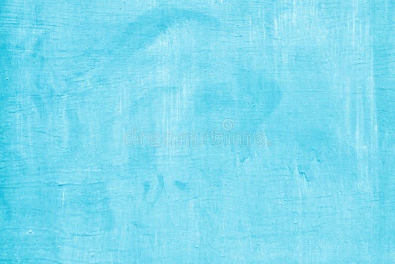 Поверхность металла неровно покрасила с голубой краской стоковая фотография