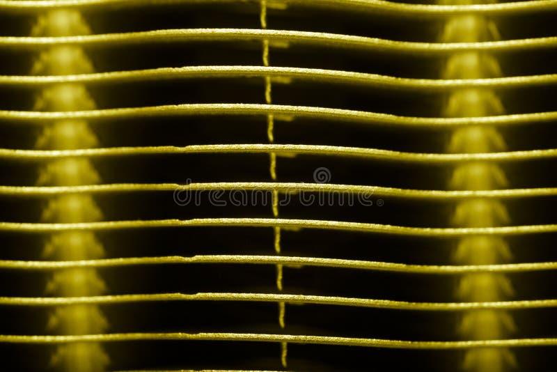 Поверхность металла радиатора для технической предпосылки r стоковое фото rf