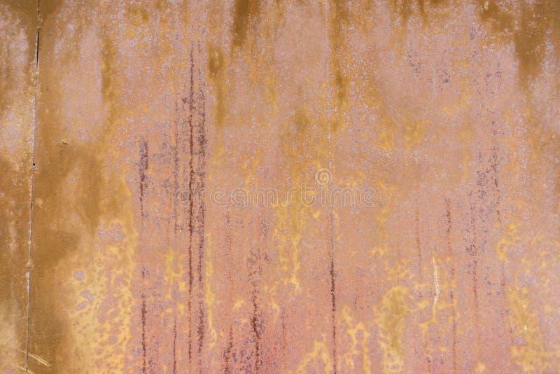 поверхность металла ржавая Предпосылка Grunge конец вверх иллюстрация вектора