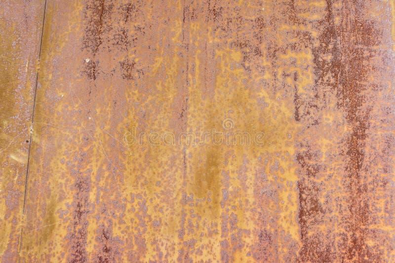 поверхность металла ржавая Предпосылка Grunge конец вверх иллюстрация штока