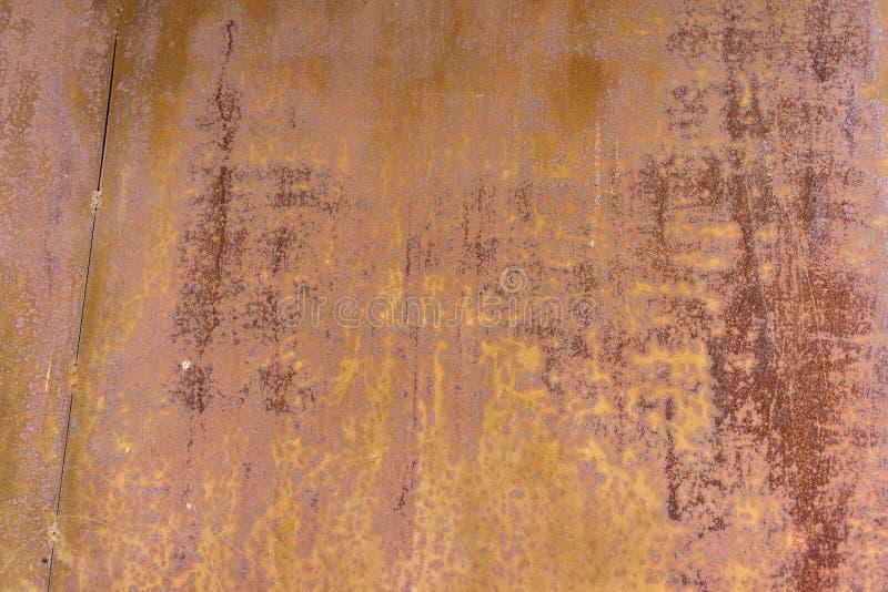 поверхность металла ржавая Предпосылка Grunge конец вверх бесплатная иллюстрация