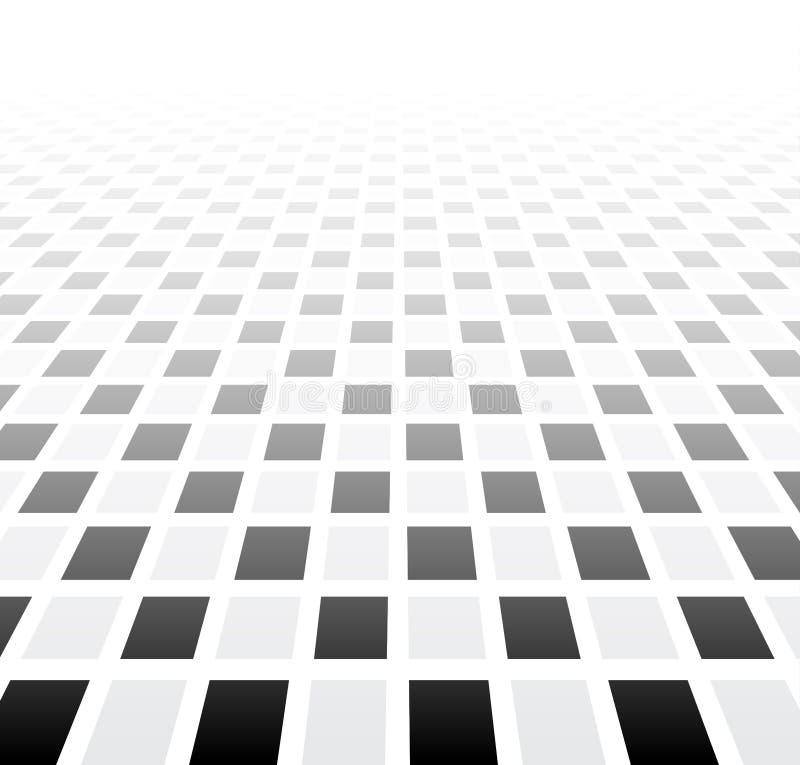Поверхность перспективы checkered бесплатная иллюстрация