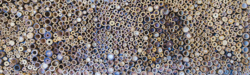 Поверхность стены бамбуковой предпосылки текстуры стоковые фото