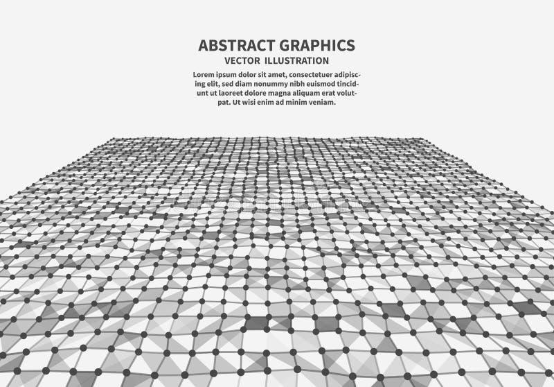 Поверхность цифров, иллюстрация вектора бесплатная иллюстрация