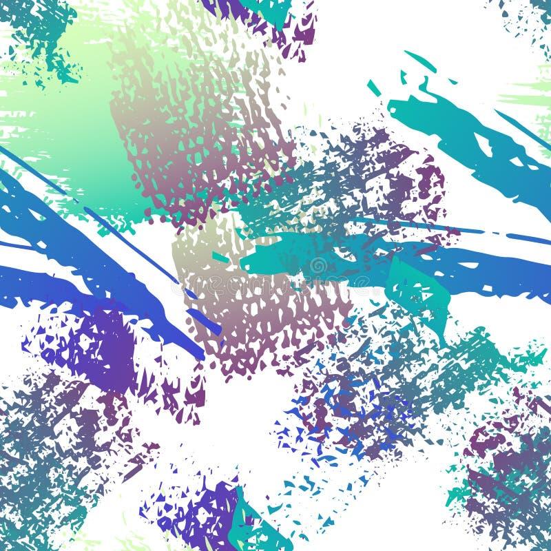 Поверхность Grunge руки вычерченная Побелите уголь и краску мелом иллюстрация вектора