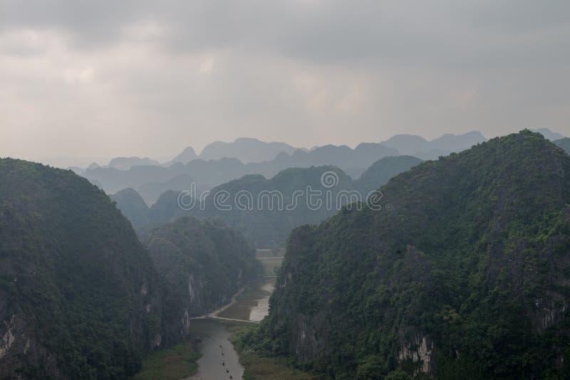 Повисните провинцию Ninh Binh виска M.U.A., Ha Noi Вьетнама декабря 2018 стоковое фото