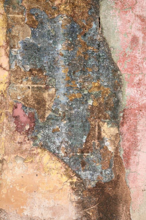 поврежденная старая стена стоковая фотография rf