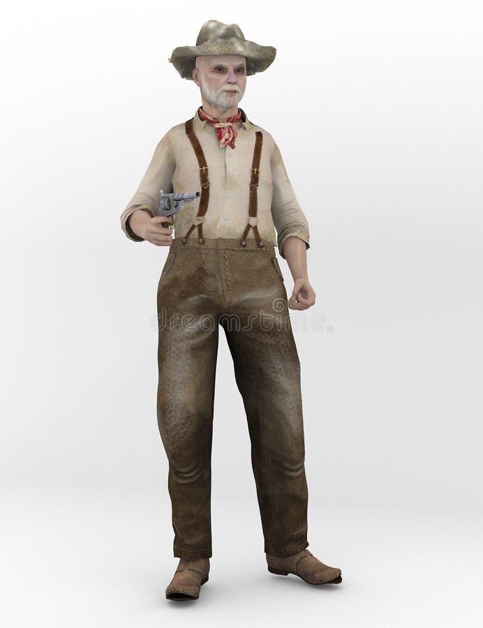 Повстанец Confederate иллюстрация штока