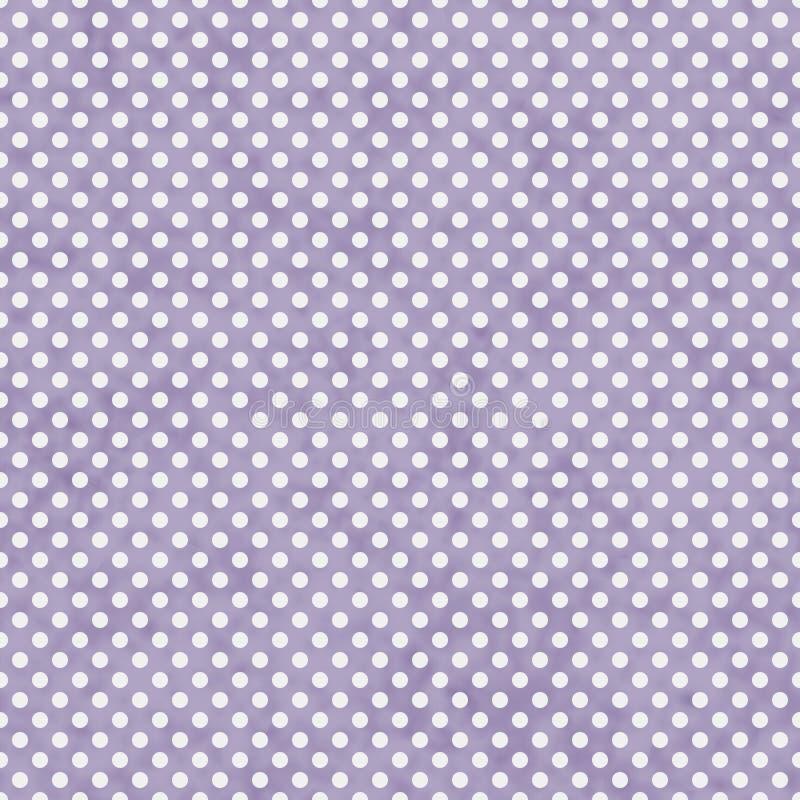 Повторение Backgroun света - фиолетовое и белое малое польки точек картины иллюстрация штока