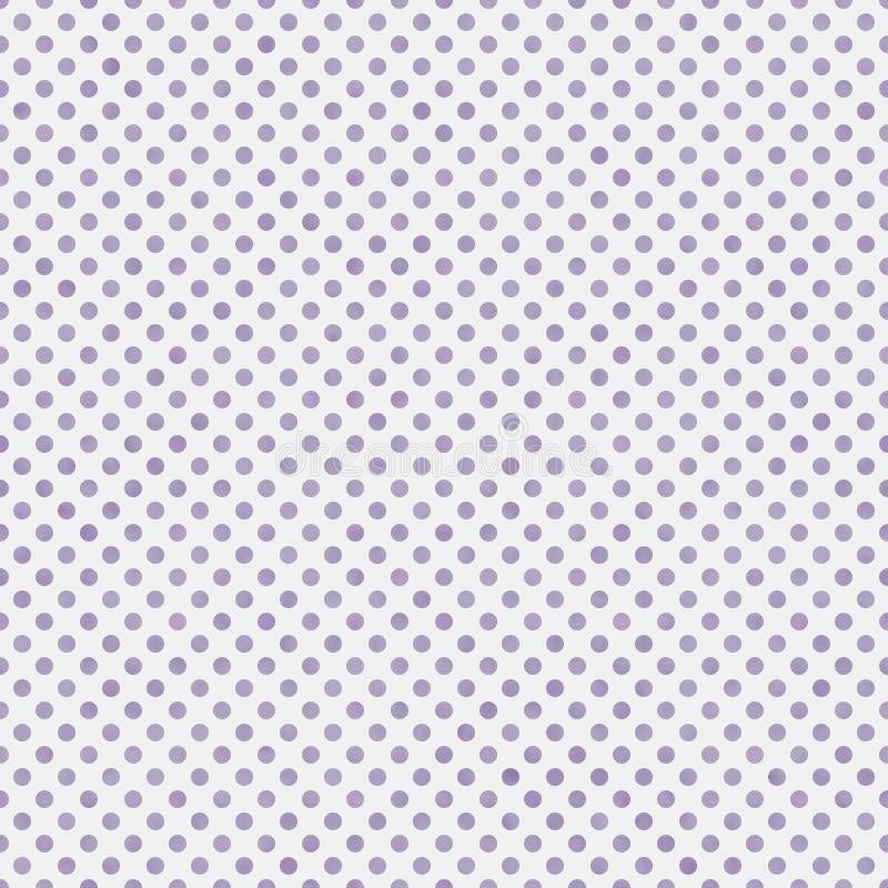 Повторение Backgroun света - фиолетовое и белое малое польки точек картины бесплатная иллюстрация