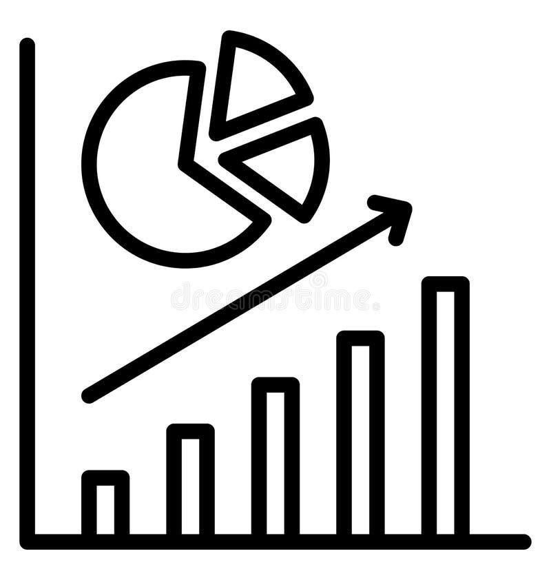 Повышение дела изолировало значок вектора который может легко доработать или отредактировать иллюстрация вектора