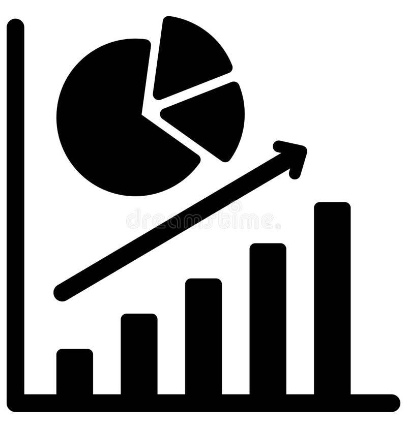 Повышение дела изолировало значок вектора который может легко доработать или отредактировать иллюстрация штока