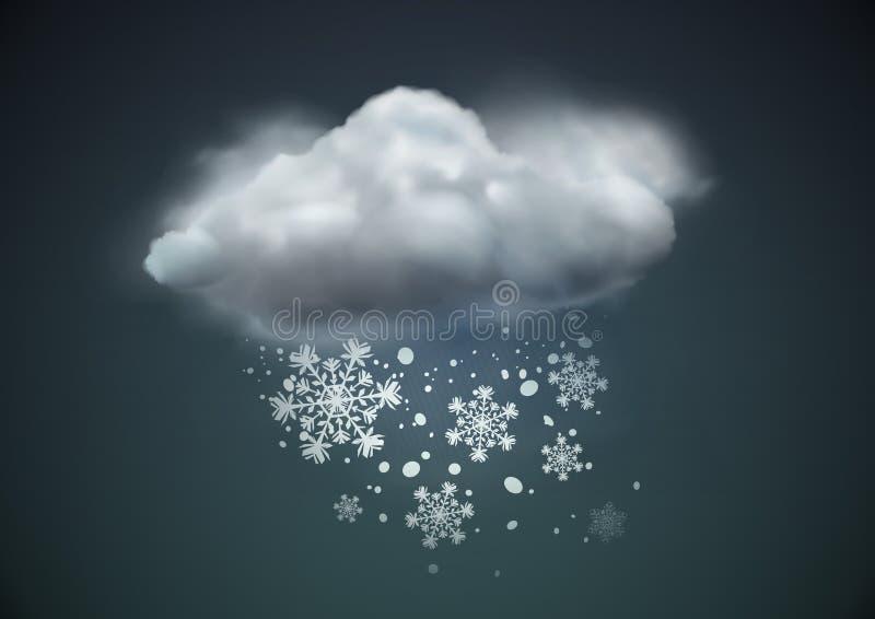 погода иконы иллюстрация штока