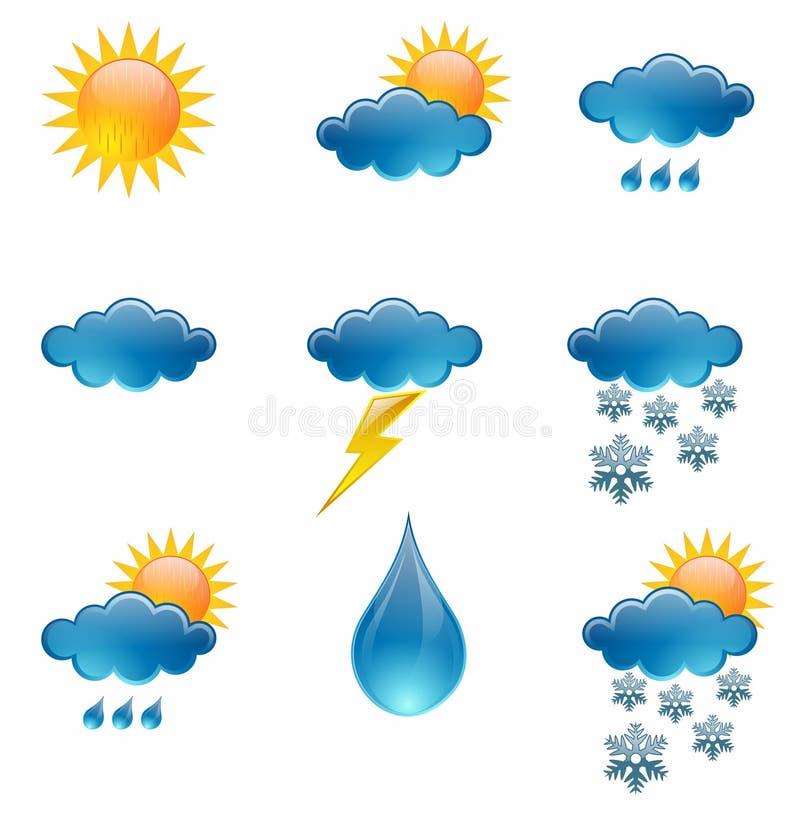 погода икон бесплатная иллюстрация