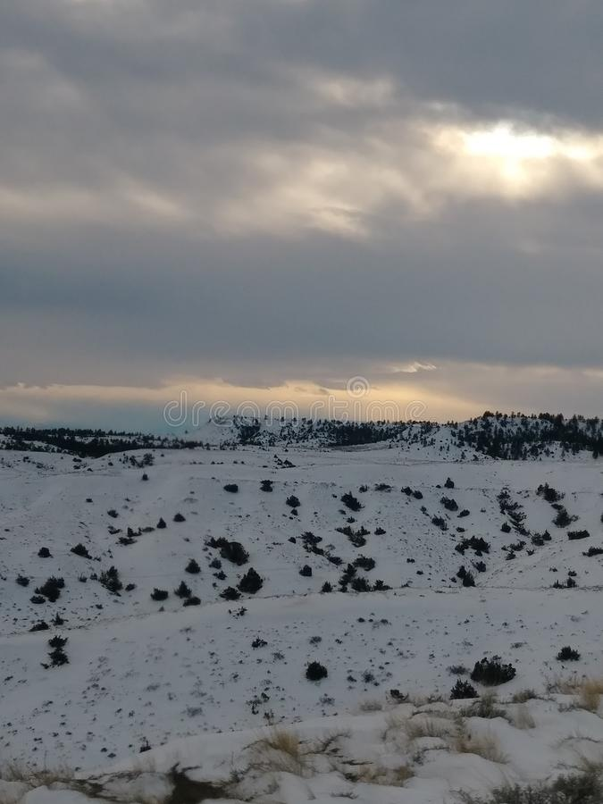Погода Монтаны стоковое фото rf