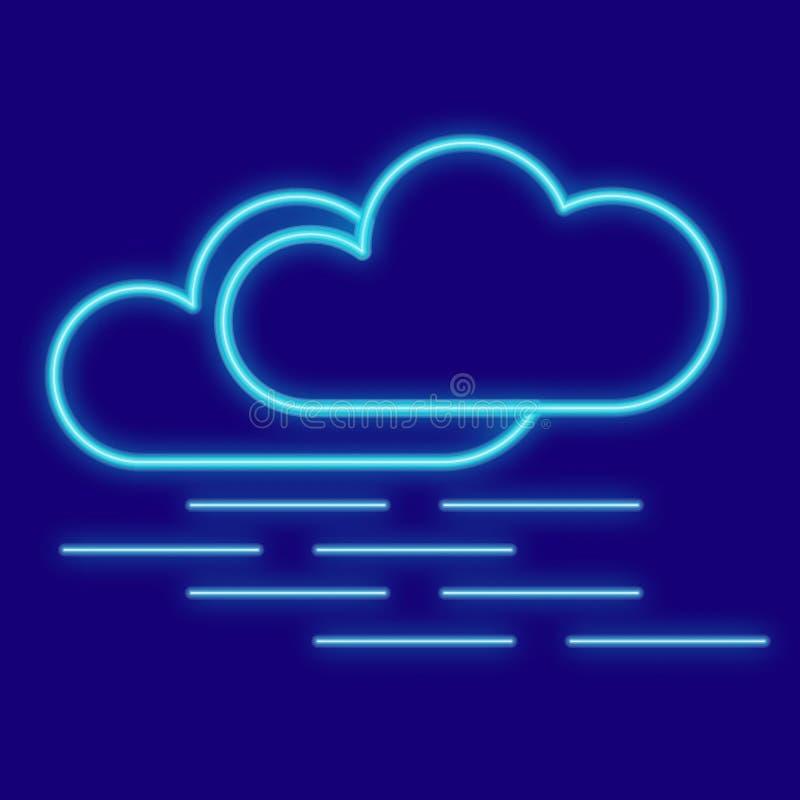 Погода Облака, туман иллюстрация штока
