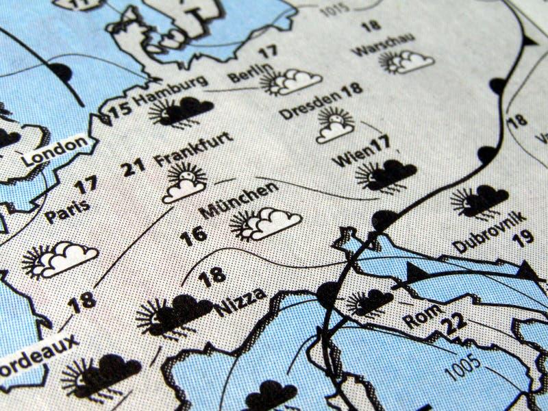 погода прогноза стоковая фотография rf