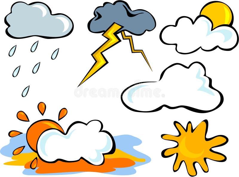 погода иллюстрация штока