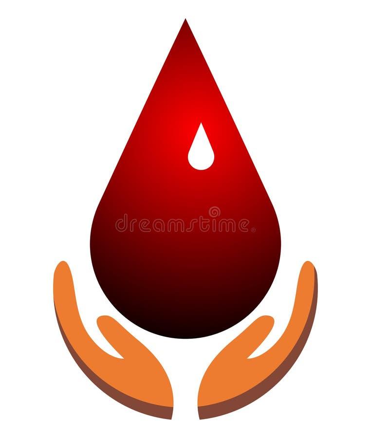 Подарите и сохраньте кровь - иллюстрацию вектора бесплатная иллюстрация